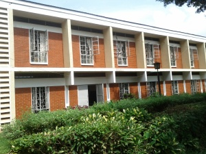 The Upper Building, Makerere University. Home of the Institute of Languages, where I take my class