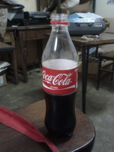 """I haven't had """"real coke"""" in years, but it has been a nice caffeinated pick me up over the last few days. #disolvesteeth"""